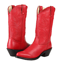 Cowboy Boots Red3