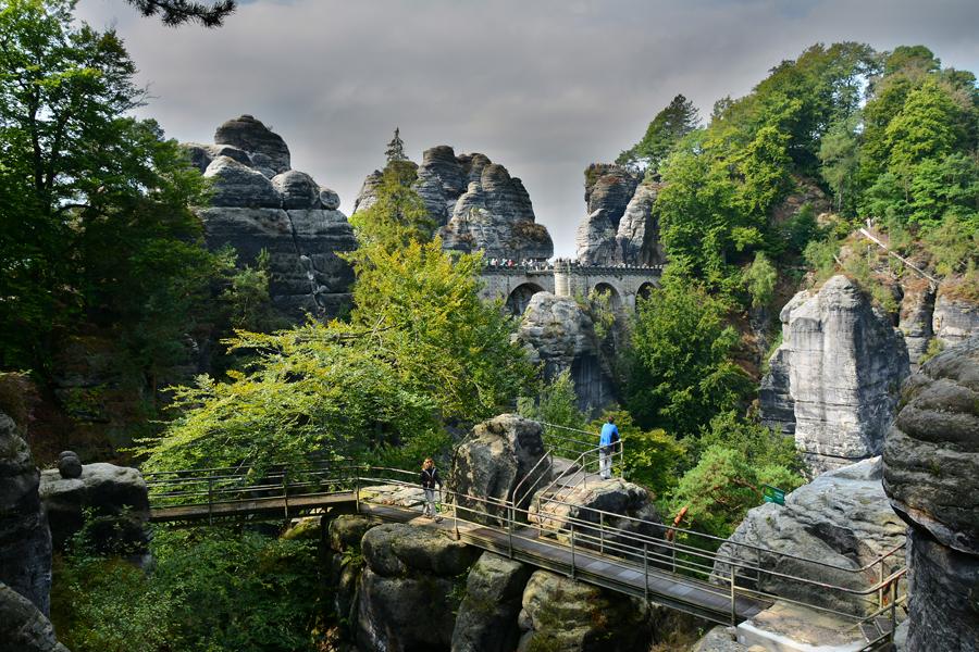 Szwajcaria Saksońska - Bastei