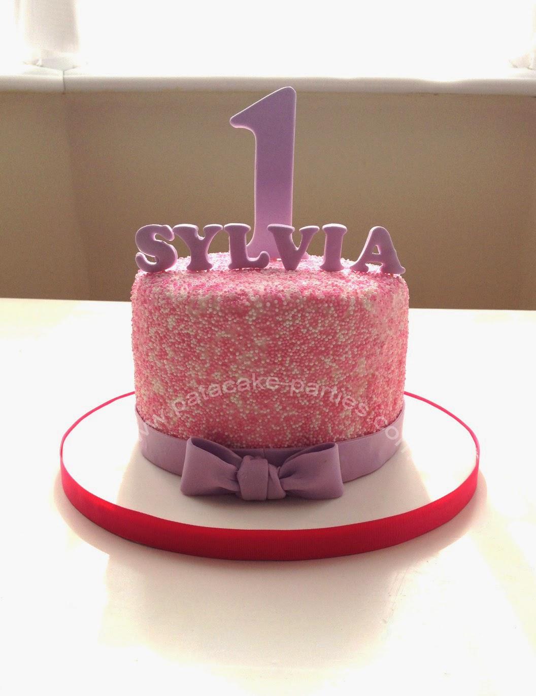 Pat A Cake Parties 100s 1000s 1st Birthday Cake