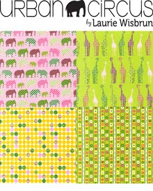 Urban Circus For Robert Kaufman Fabrics | Released August 2010
