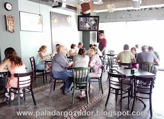 Campeche restaurant La Reina interior