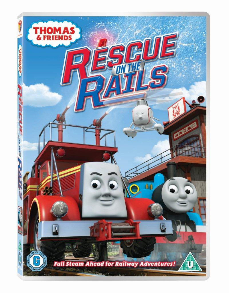 Great thomas and friends rescue on the rails