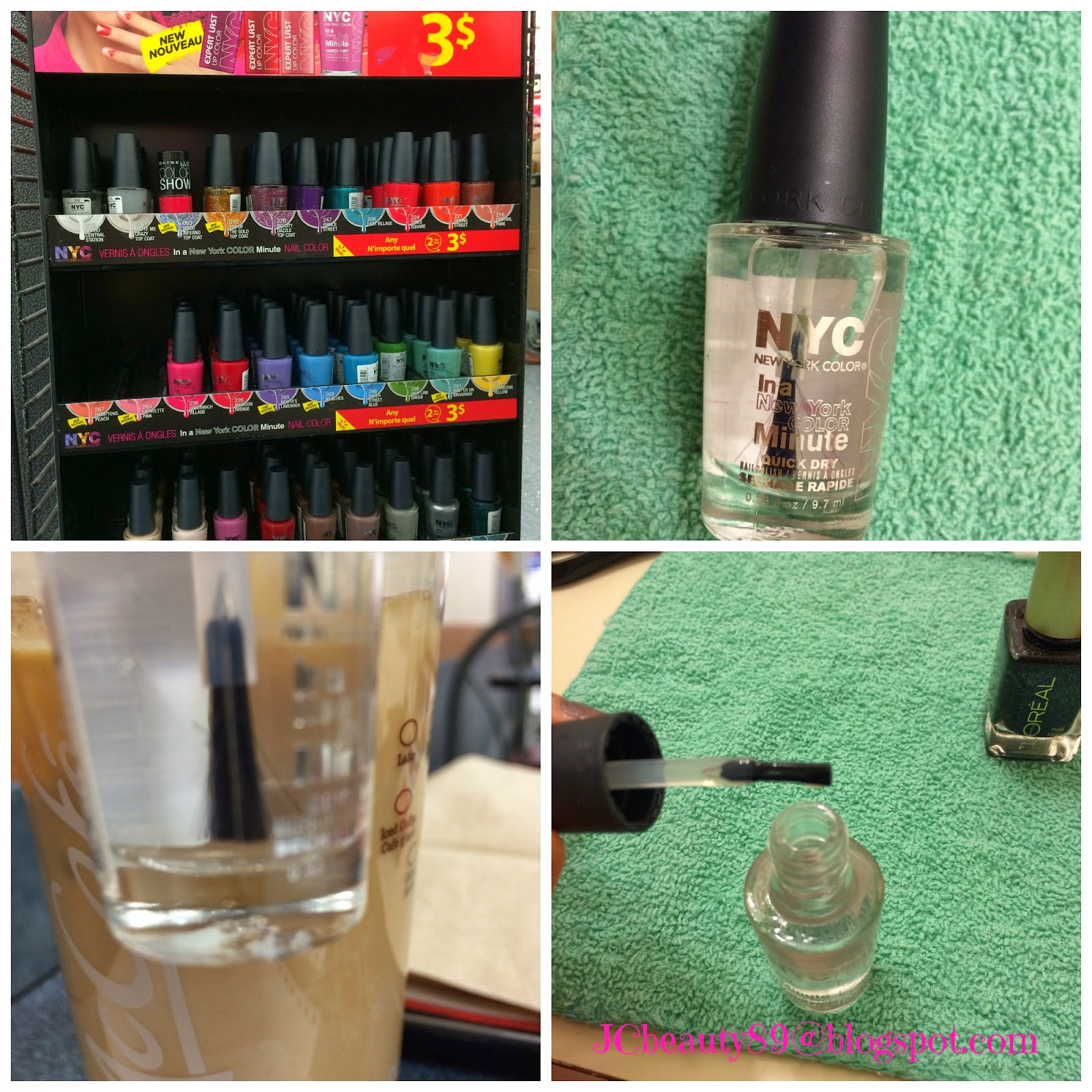 Beauty and the Canadian : REVIEW: NYC in a New York minute Nail ...