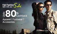 PayTm Fab Fashion Sale