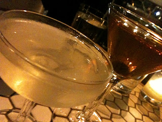 cocktails at Artusi in Seattle
