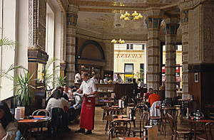 Café Slavia in Prag