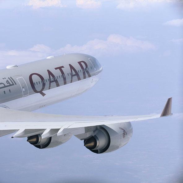 Cool Jet Airlines: Qatar Airways 777