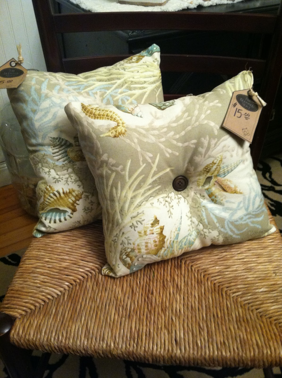 Decorative Pillows Homemade : The Blessed Nest: Currently For Sale: Homemade Pillows!