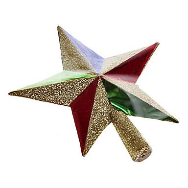 Figuras y moldes de foami molde estrella3d arbol navidad - Estrella para arbol de navidad ...