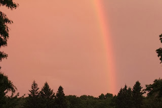 photo of end of the rainbow