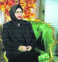 Hatijah Aam, balu bekas pemimpin Al-Arqam, Allahyarham Ashaari Muhammad