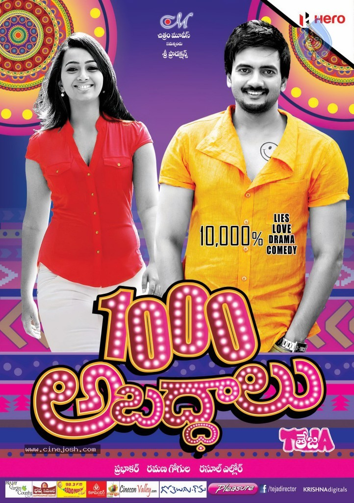 1000 Abaddalu (2013) Telugu Free HDMovie