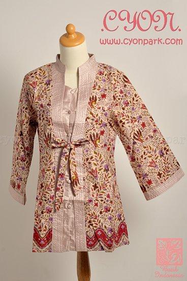 Model Baju Kerja Batik Wanita Terbaru