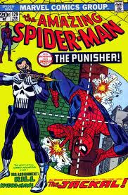 Amazing Spider-Man 129 cover. First Appearance of The Punisher!