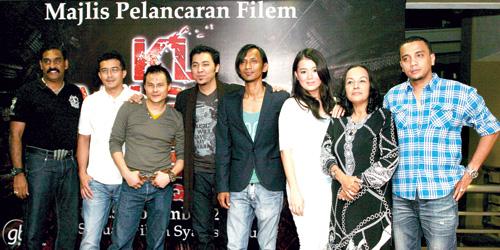 Gambar Para Pelakon KL Gangster 2 Semasa Majlis Pelancaran