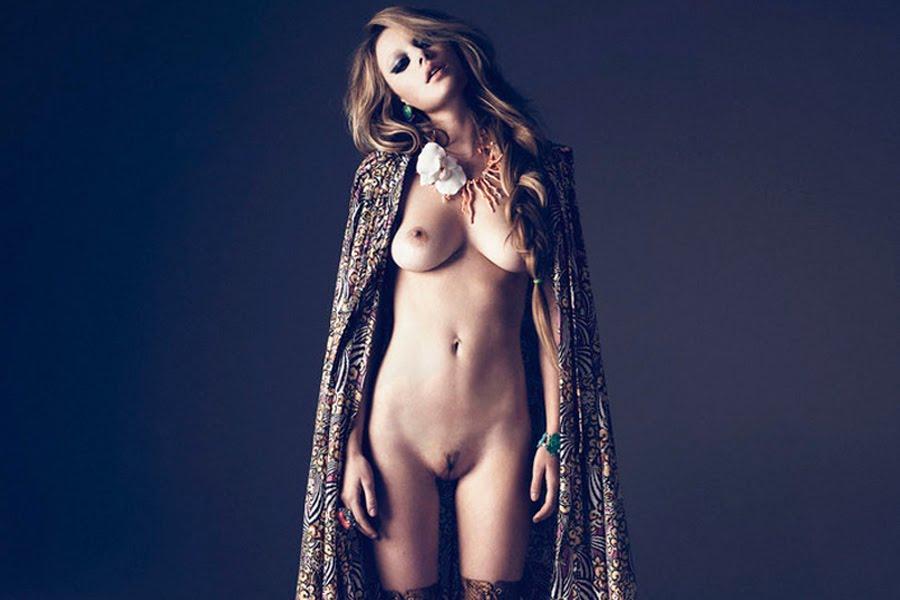 Camille Rowe-Pourcheresse by Paul Schmidt for Jalouse Magazine 2011