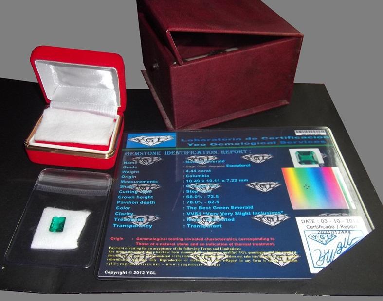 Contoh Paket Batu Permata Zamrud