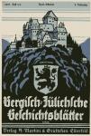 Bergisch-Jülichsche Geschichtsblätter. Heft 3/4, 1931