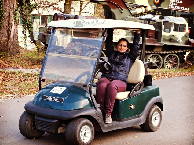 golf car arsenal park orastie
