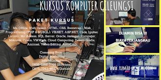 Brosur kursus komputer