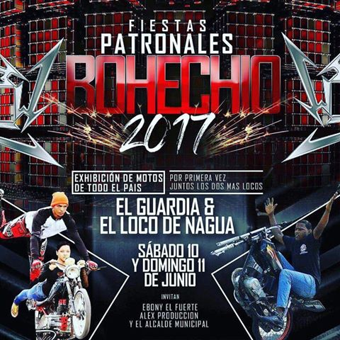 Fiestas Patronales Bohechio 2017