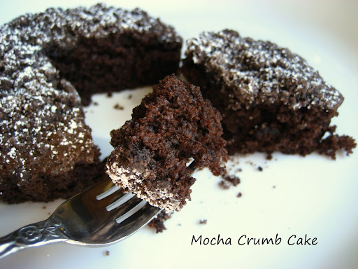 mocha crumb cake quick and easy dessert i made this cake some time ago ...