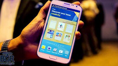 Spesifikasi Samsung Galaxy Note II