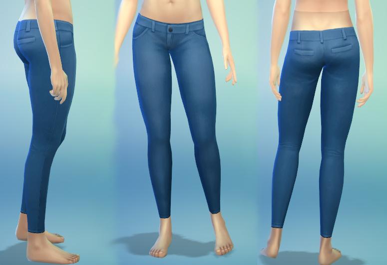 Skinny jeans sims 4 cc