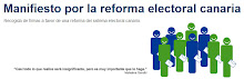 REFORMA DE LA LEY ELECTORAL CANARIA