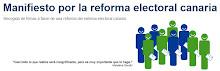 REFORMA DE LA LEY ELECTORAL CANARIA