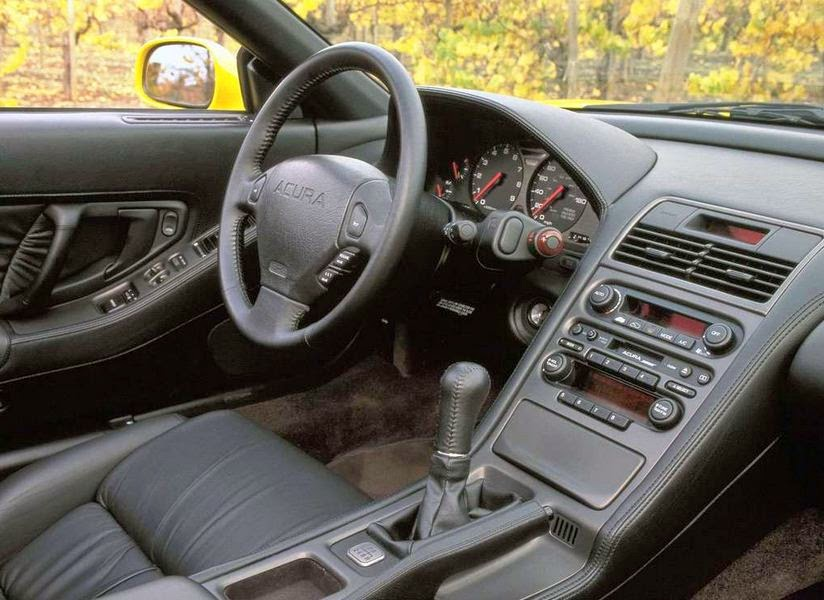 2001 Acura NSX-T Interior View