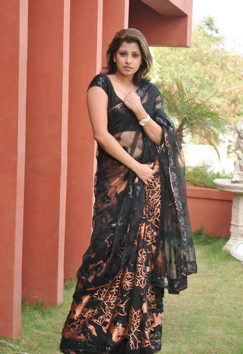 nadeesha hemamali transparent saree , nadeesha spicy glamour  images