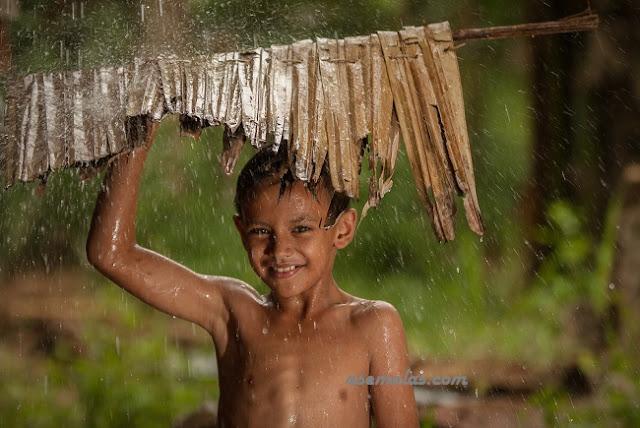 Aku Dan Hujan - Arti Mimpi Tentang Mandi