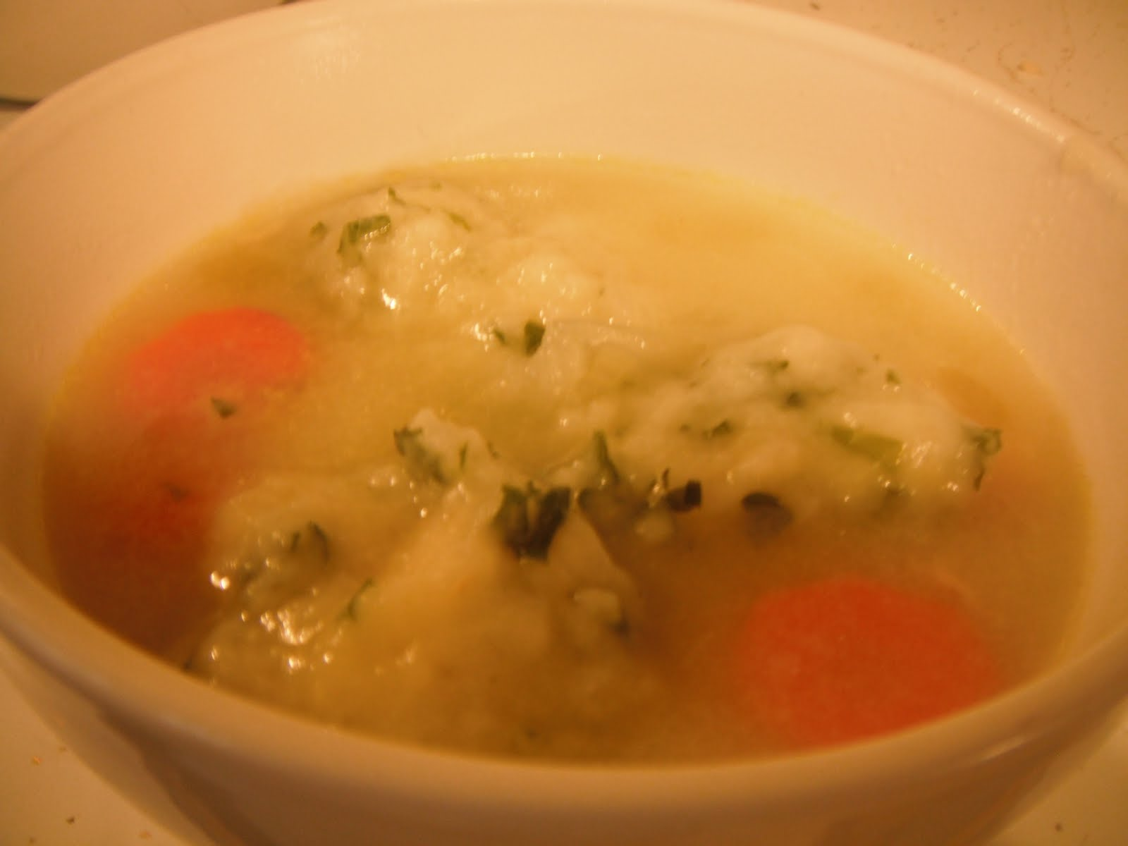 Food Obsession: Chicken and Parsley Dumpling Soup