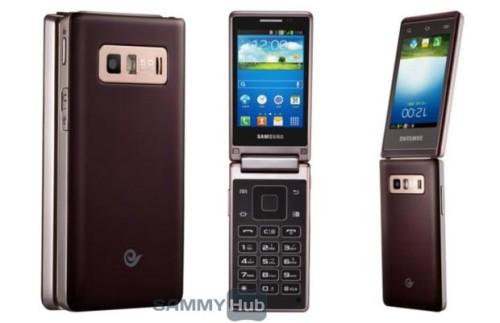 In arrivo il primo smartphone android a conchiglia, sviluppato da Samsung destinato all'asia?