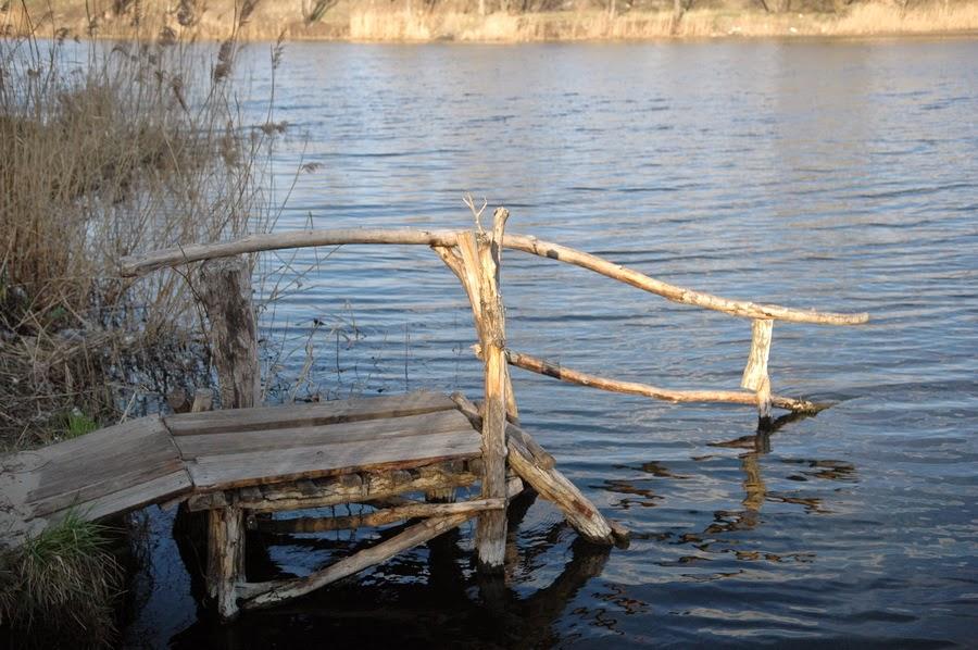 Фото Виталия Бабенко:Среднее Выгуровское озеро
