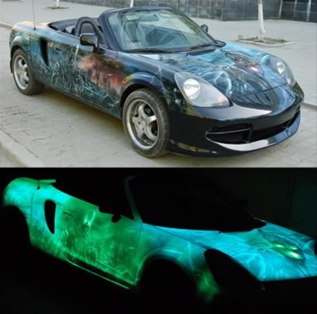 10 Inovasi Keren yang Terinspirasi dari Ultraviolet: Mobil UV