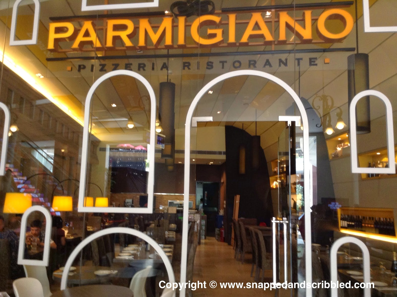 Buon Appetito: Parmigiano Pizzeria Ristorante