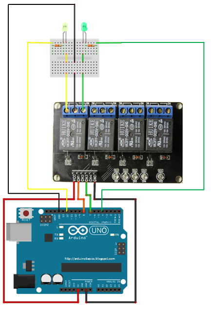 Relay_LED_Circuit_with_Arduino arduino basics relay module  at crackthecode.co