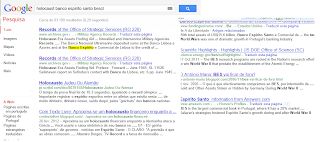 BESCL; actual; bes; banco; nazi; envolvido; holocausto; busca; google