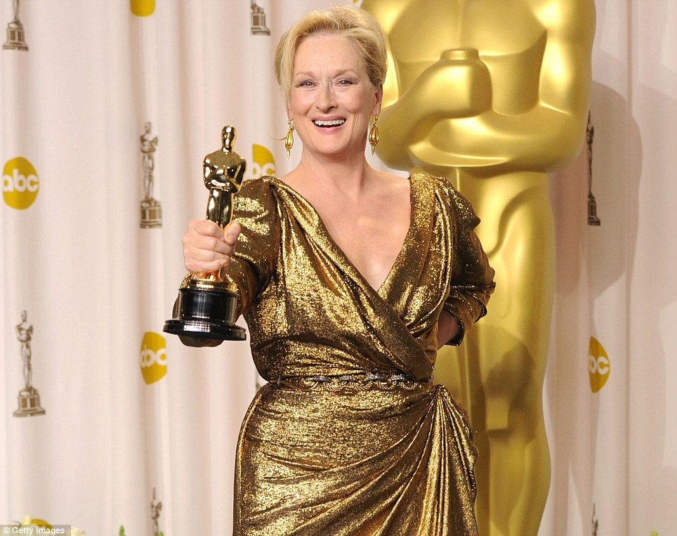 Best Actress: Meryl Streep, The Iron Lady