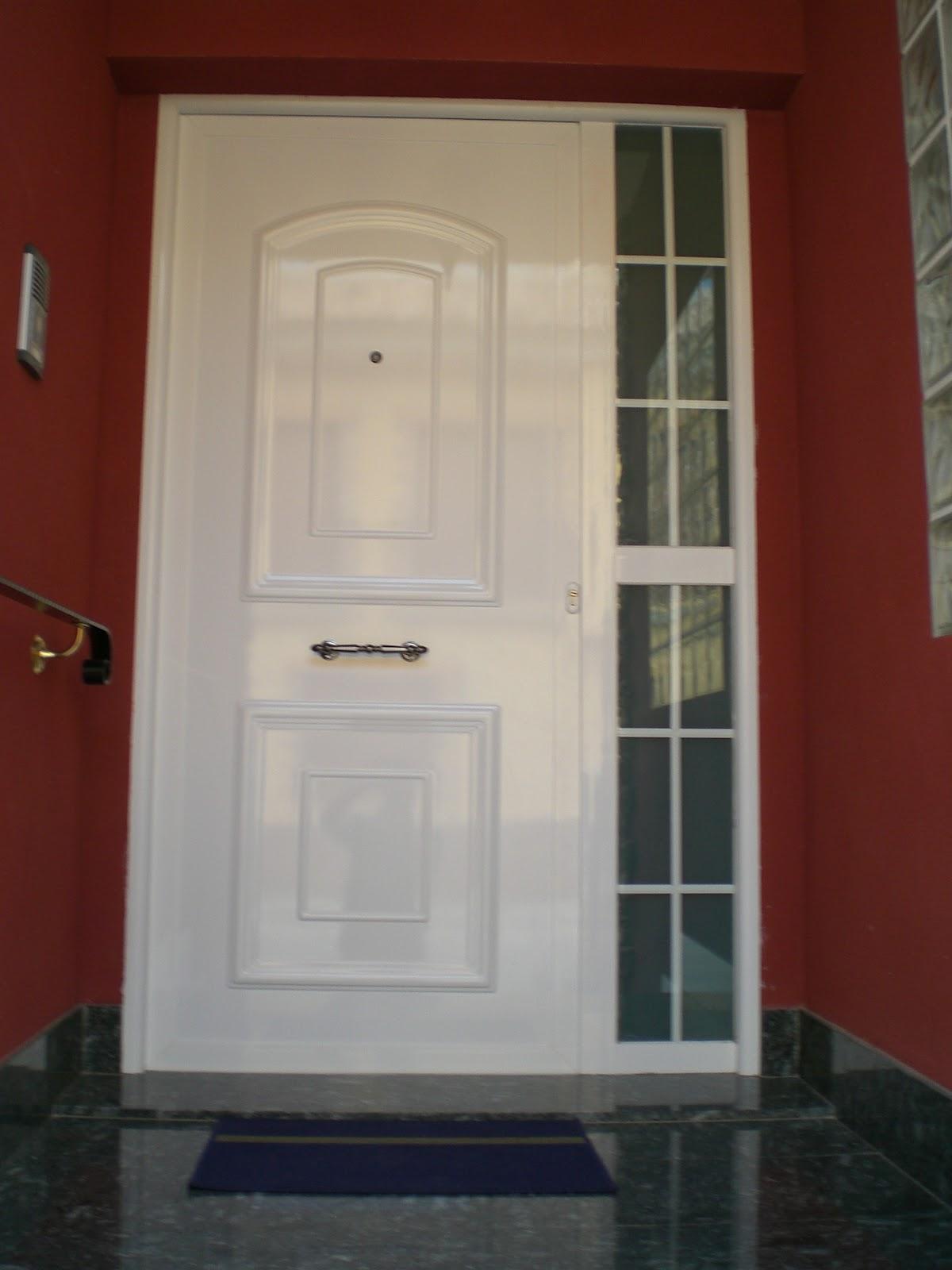 puertas de entrada carpinteria lozano hierro y aluminio