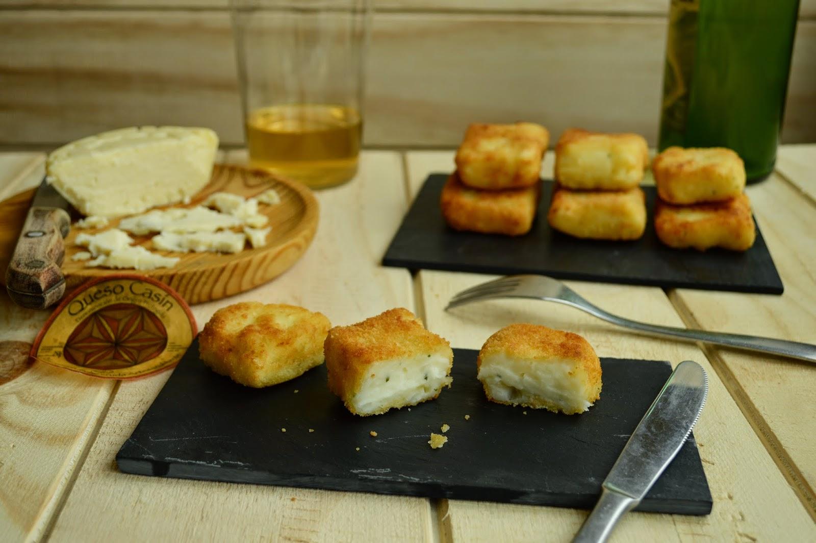Crujientes de queso Casín