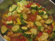 Southwest Summer Squash Saute