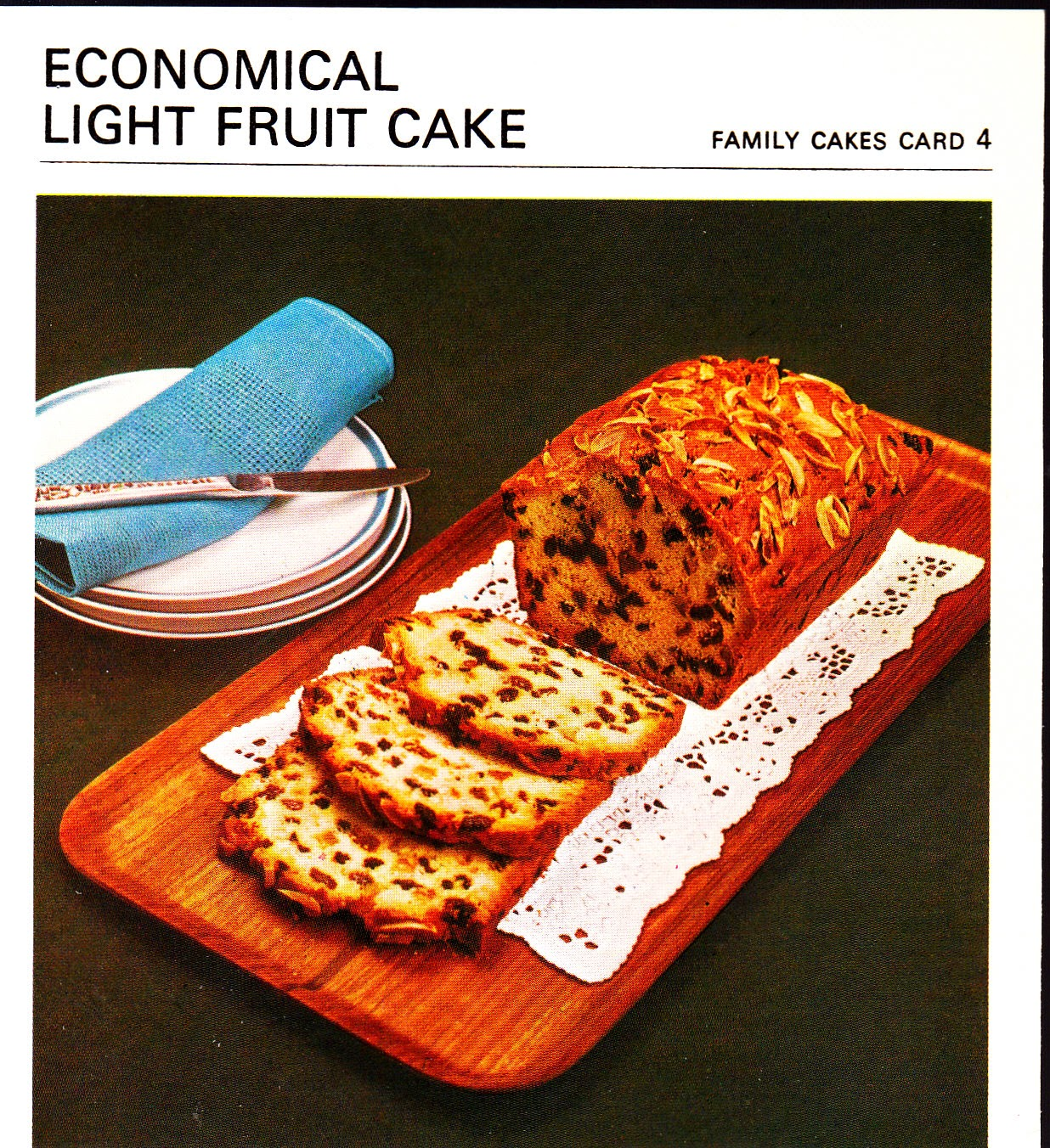 Marguerite Patten Fruit Cake Recipe