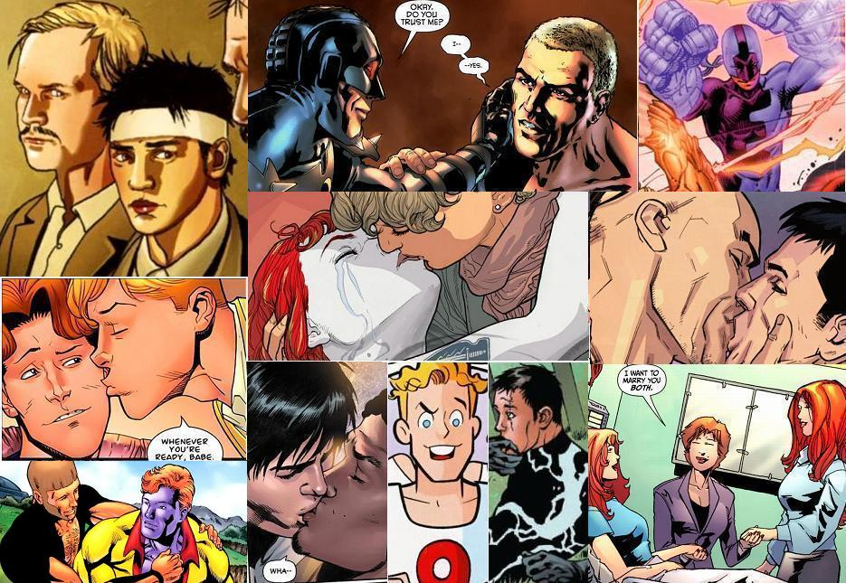 A couple of gay comic book characters had some significant moments in 2011.