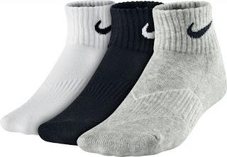 dětské ponožky NIKE Performance Cotton SX4722 šedé