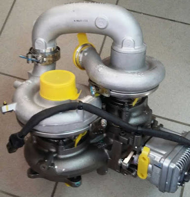 Турбокомпрессор 28210-52020 (ДВС D6GA)