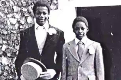 Justin and john fashanu childhood picture