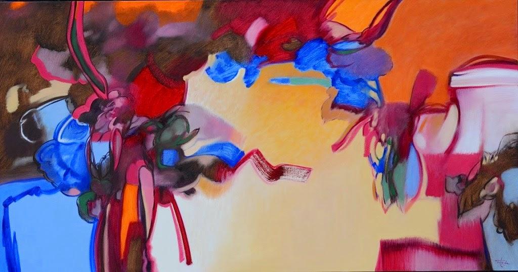 Pintura moderna y fotograf a art stica oleos abstractos - Pinturas acrilicas modernas ...